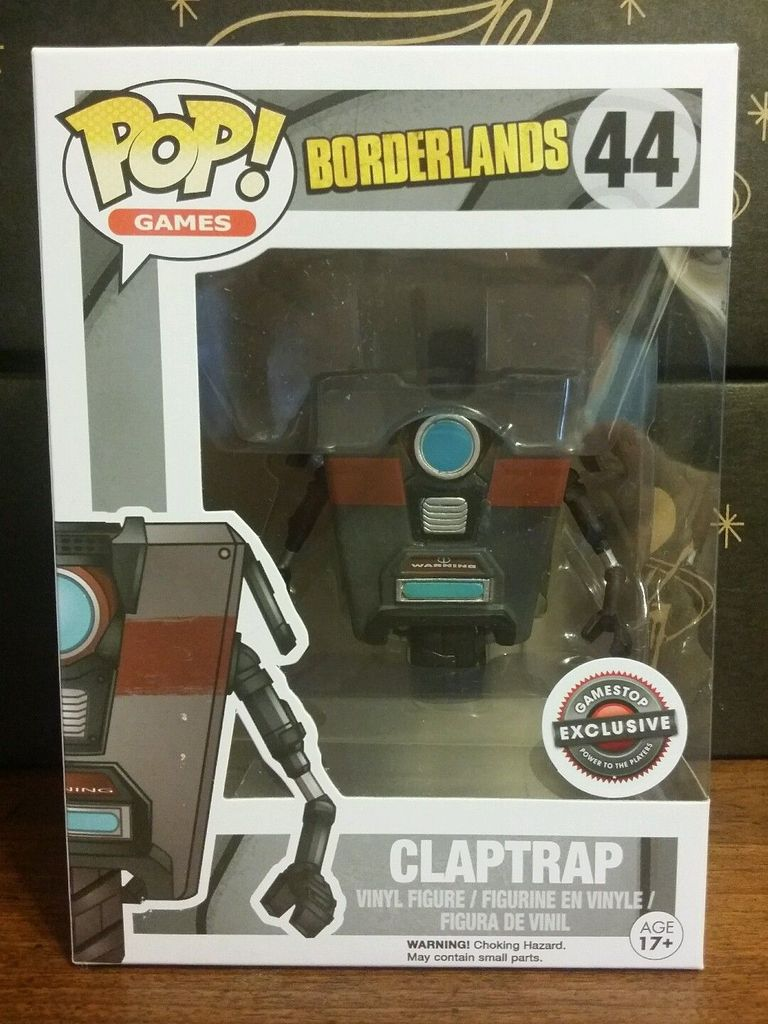 2015 Black Friday Gamestop Exclusive Claptrap Funko POP! Figure