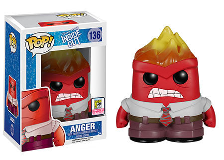 SDCC 2015 Exclusive Pop! Disney/Pixar: Inside Out Flamehead Anger
