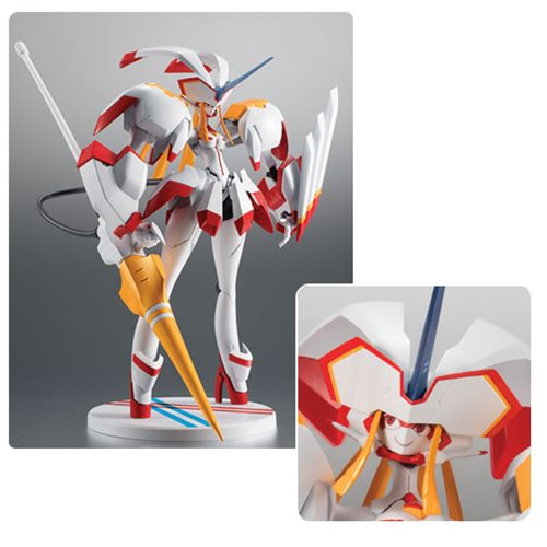 Preorder November 2018 Darling In The Franxx Strelizia Bandai Robot Spirits Action Figure