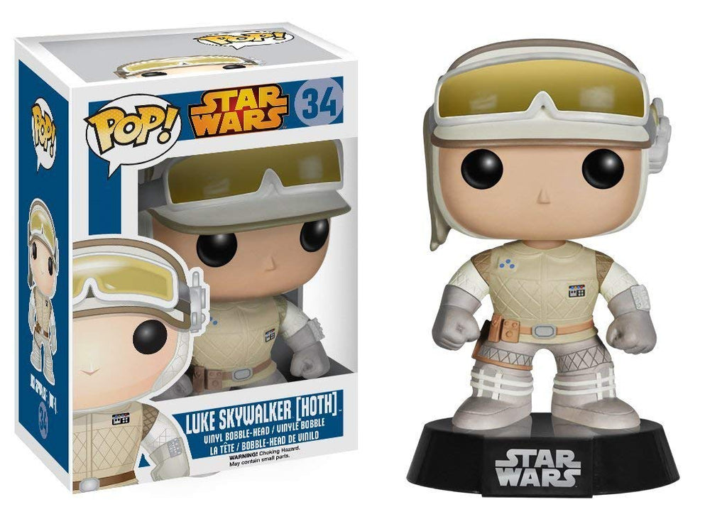 Star Wars Luke Skywalker Hoth Pop! Vinyl Bobble Head