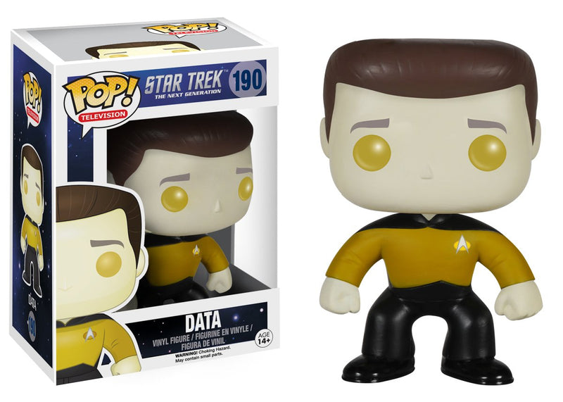 Star Trek: The Next Generation Data Pop! Vinyl Figure #190