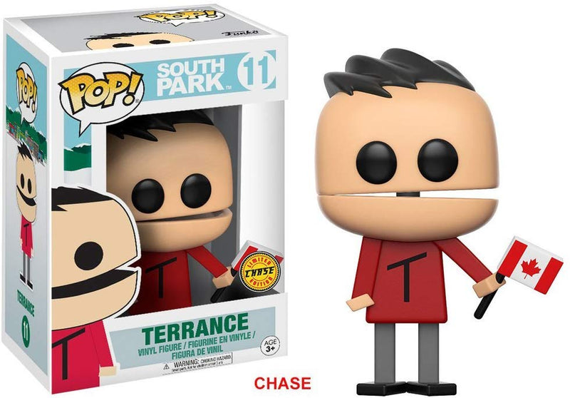 Funko Pop Television: South Park-Terrance Chase Collectable Figure