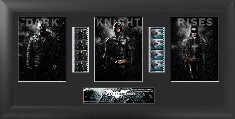 The Dark Knight Rises Batman (S2) Trio Film Cell