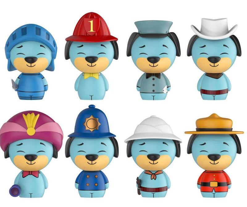SDCC 2017 Exclusive Huckleberry Hound 8-pack Dorbz Figure LE 1500