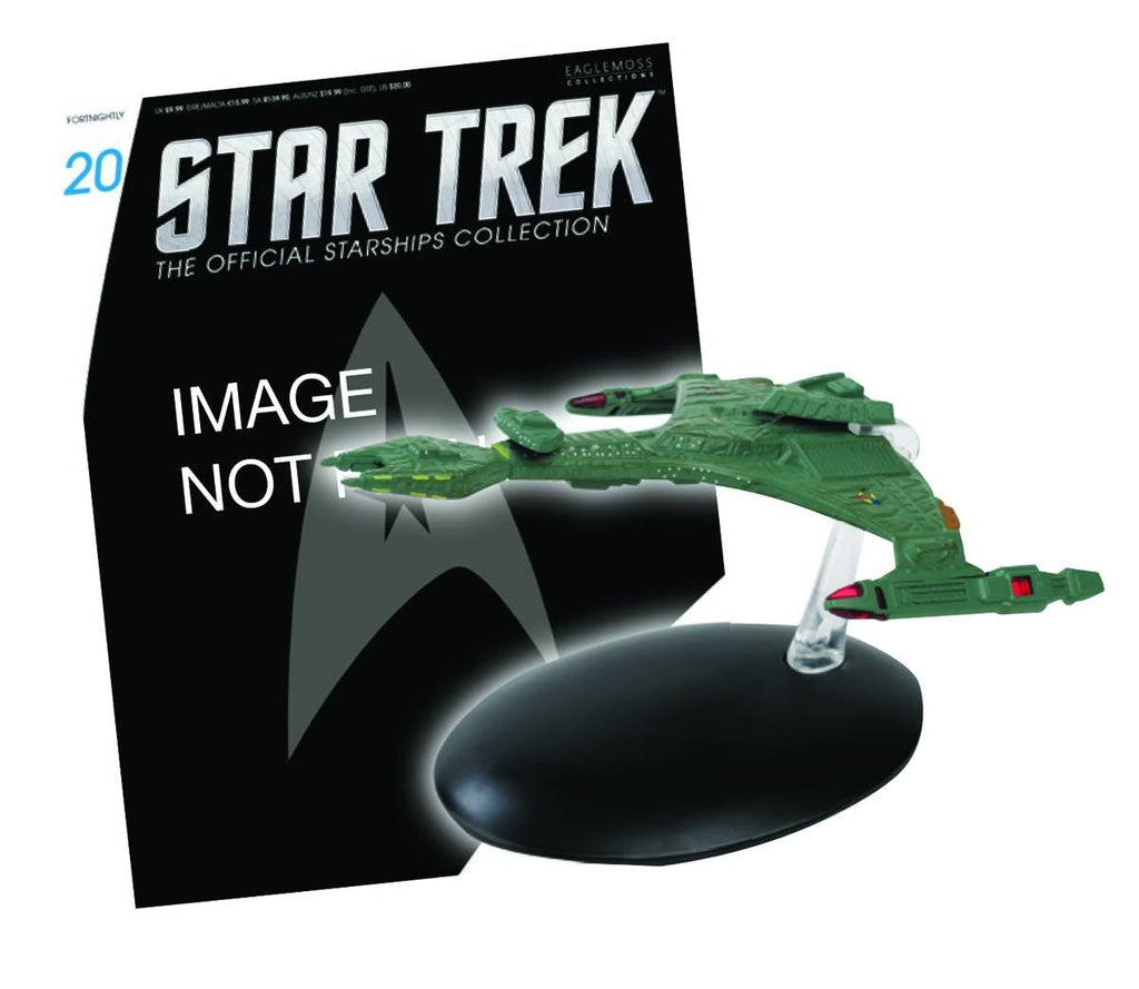 Star Trek Starships Figure & Magazine #20 Klingon V'orcha Class