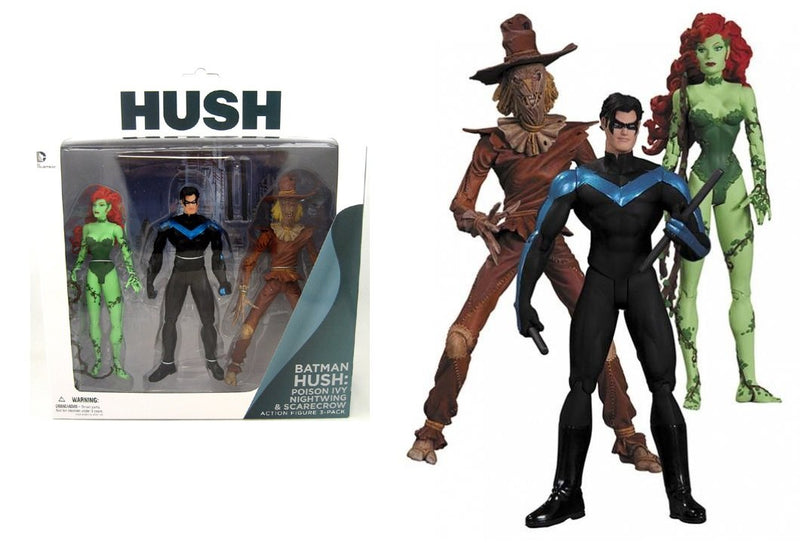 Hush Scarecrow Nightwing Poison Ivy Action Figure Set