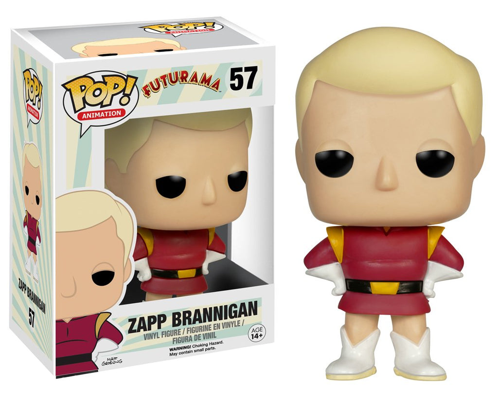 Futurama Zapp Brannigan POP! Vinyl Figure #57