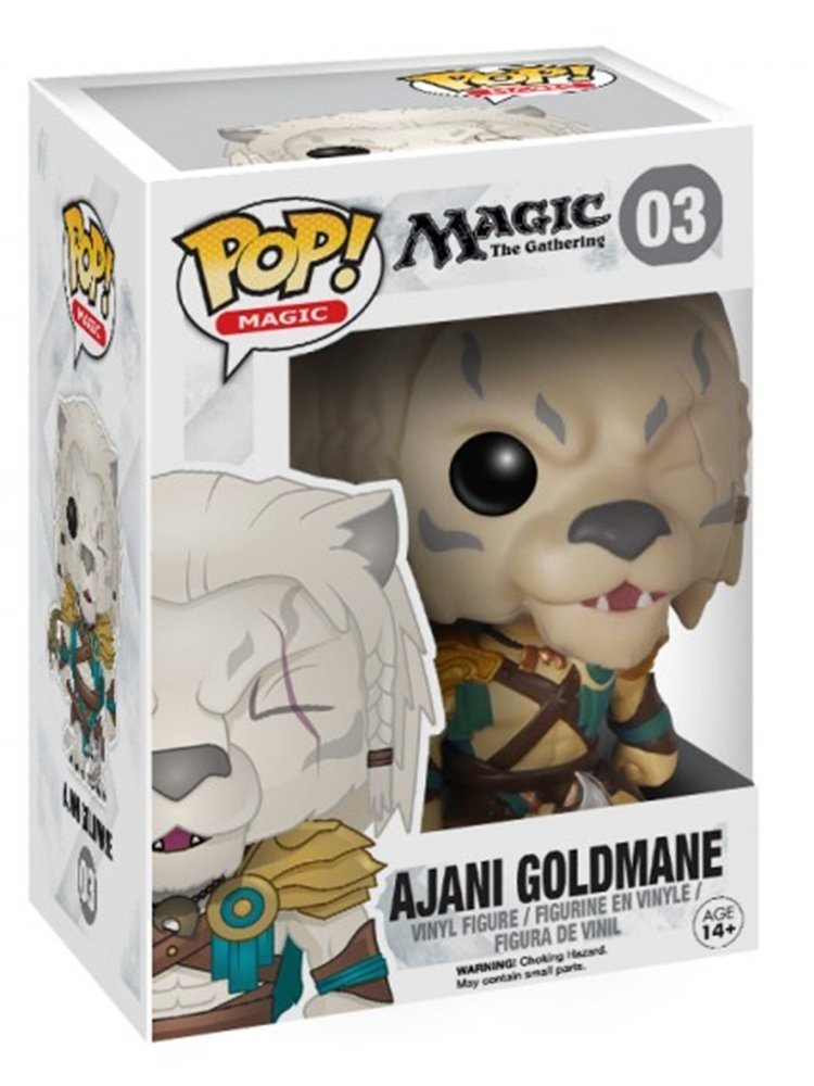 Funko Pop! Games: Magic The Gathering - Ajani Goldmane Vinyl Figure