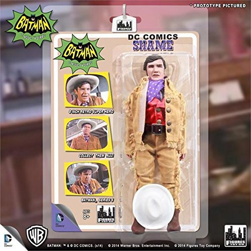 "Batman 1966 TV Series Classic TV Series 3 Shame 8"" Action Figure"