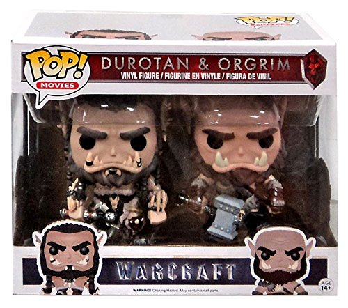 Warcraft Durotan and Ogrim FYE Exclusive Pop! Vinyl Figures