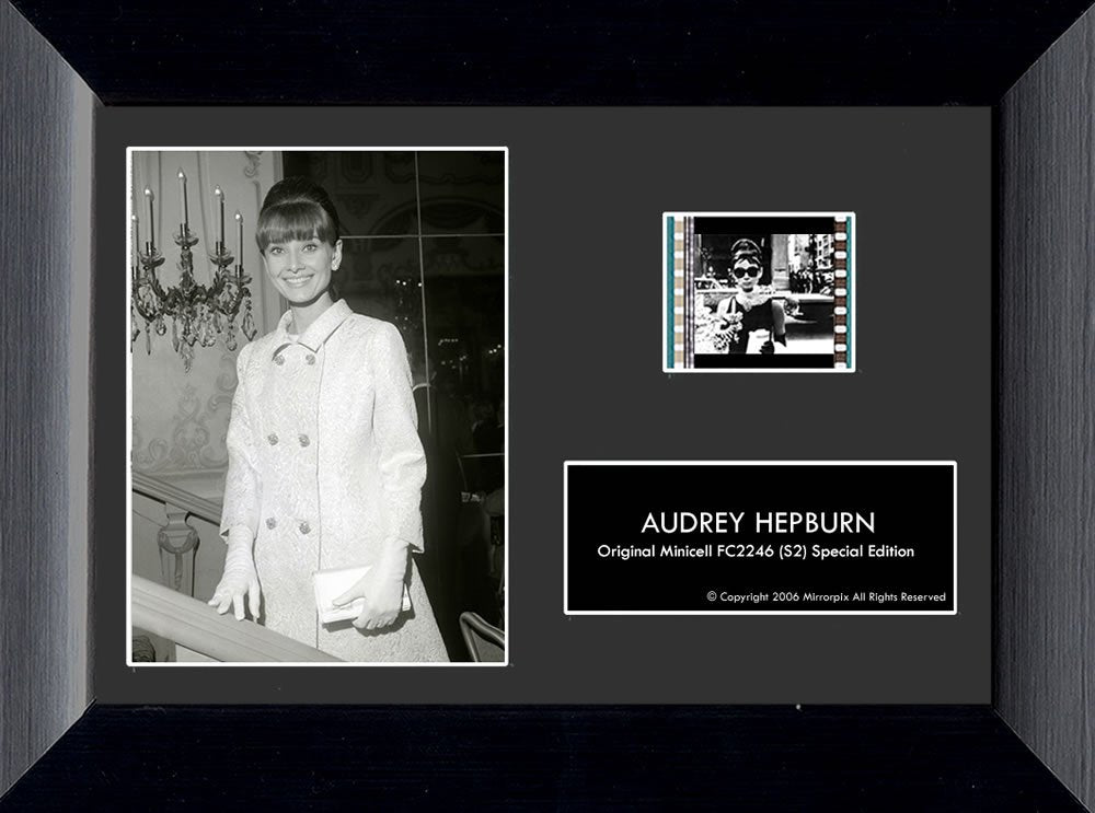 Audrey Hepburn (S2) Minicell Film Cell - Special Edition