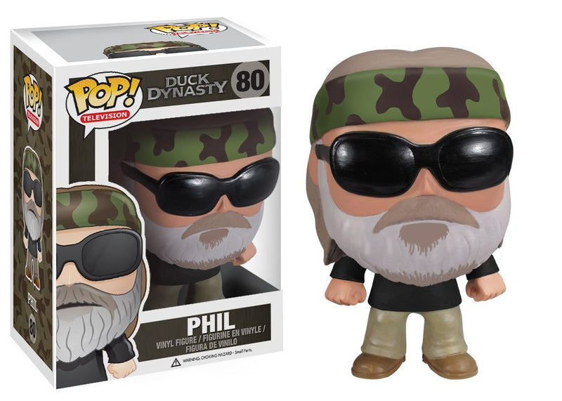 Duck Dynasty Duck Commander Phil Robertson Pop! Vinyl Figure