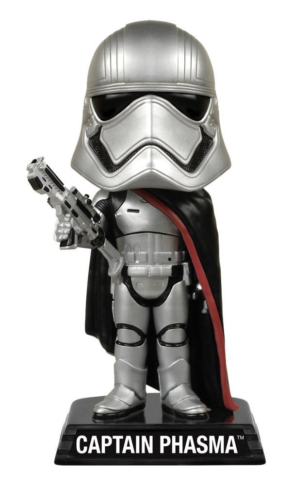 Star Wars Episode VII Captain Phasma Funko Wacky Wobbler Bobblehead Figure
