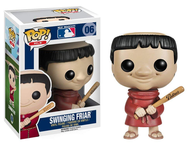Major League Baseball Swinging Friar Pop! Vinyl Figure