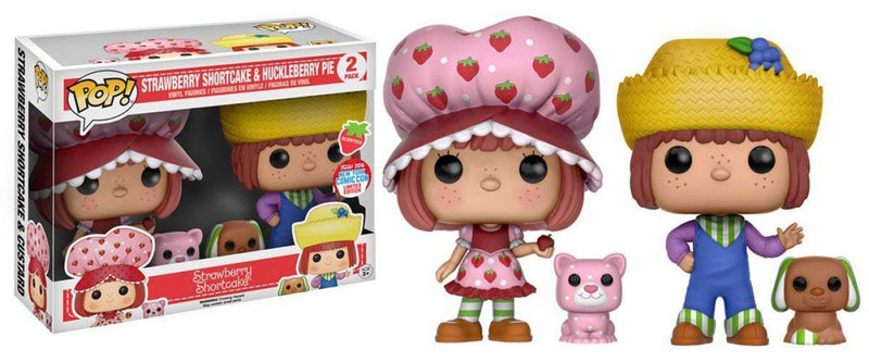 Strawberry Shortcake & Huckleberry Pie Exclusive Vinyl Figures
