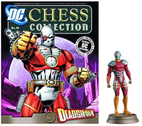 DC Superhero Chess Figure #39 Deadshot
