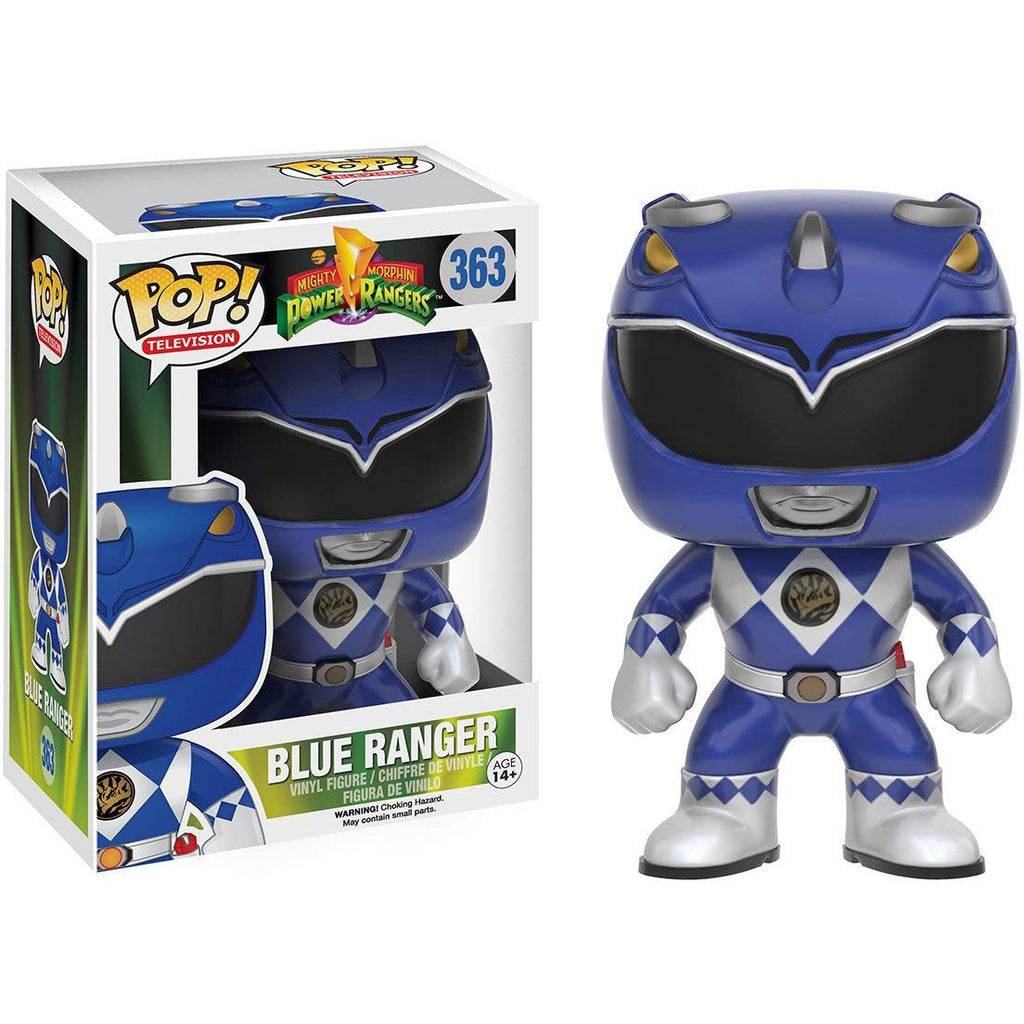FUNKO POP! TELEVISION: POWER RANGERS - BLUE RANGER