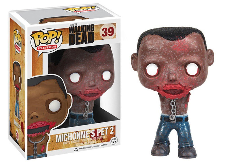 Walking Dead Michonne's Pet 2 Zombie POP! Vinyl Figure #39