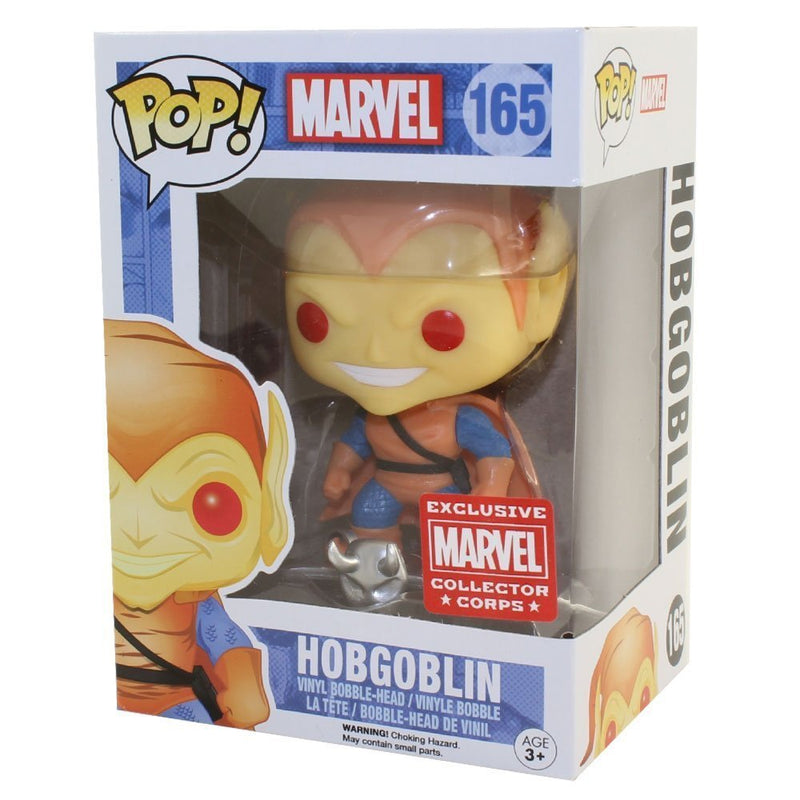 Funko Pop! Marvel Hobgoblin Collector Corps Year One Exclusive - Not Mint