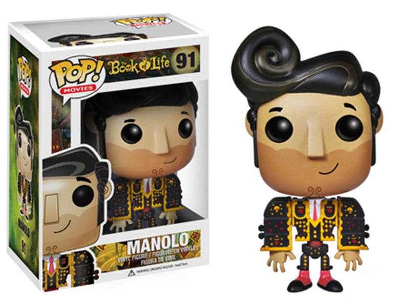 The Book of Life Manolo Pop! Vinyl Figure #91