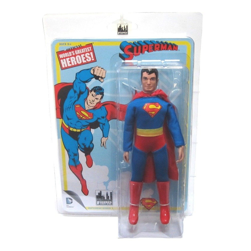 Superman DC Retro 8-Inch Series 1 Superman Action Figure