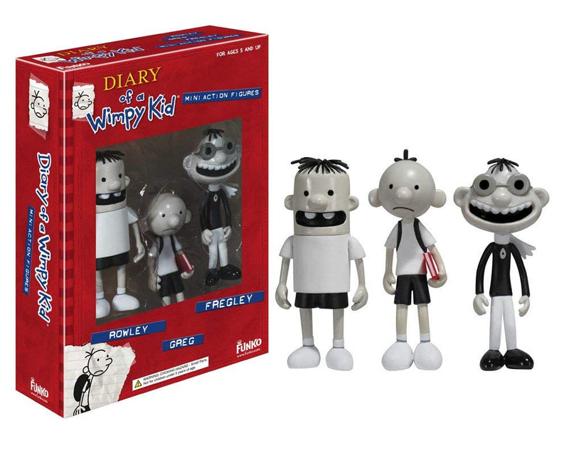 Funko Diary Of A Wimpy Kid 3-Pack Action Figure Set