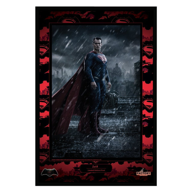 Batman v Superman: Dawn of Justice Lithographic Print Set with Wonder Woman