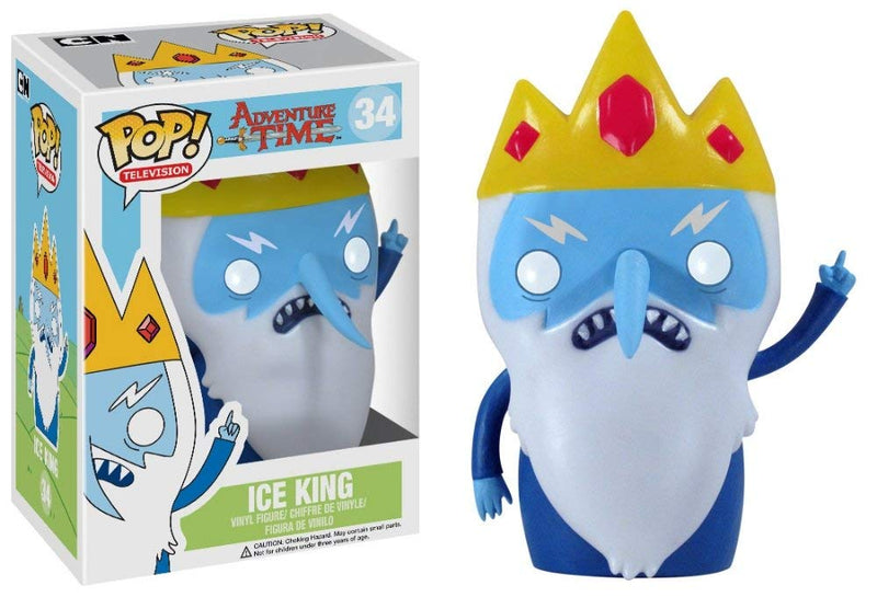 Adventure Time Ice King Pop! Vinyl Figure #34