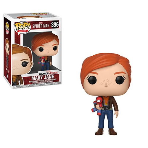 Preorder Spider-Man Mary Jane with Plush Pop! Vinyl Figure #396