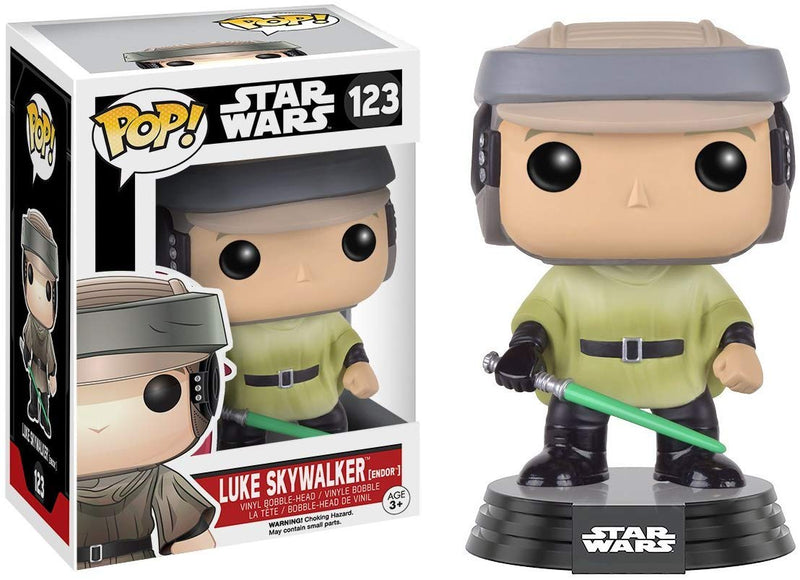Funko POP Star Wars Endor Luke Skywalker Action Figure
