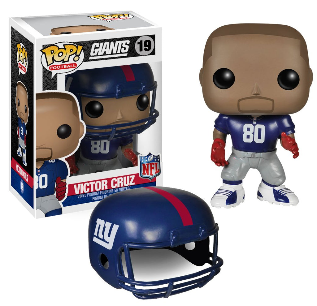 Funko POP NFL: Wave 1 - Victor Cruz Action Figures