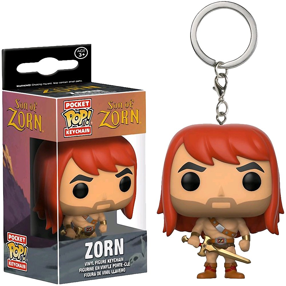 Funko Pop Keychain: Son of Zorn Toy Figures