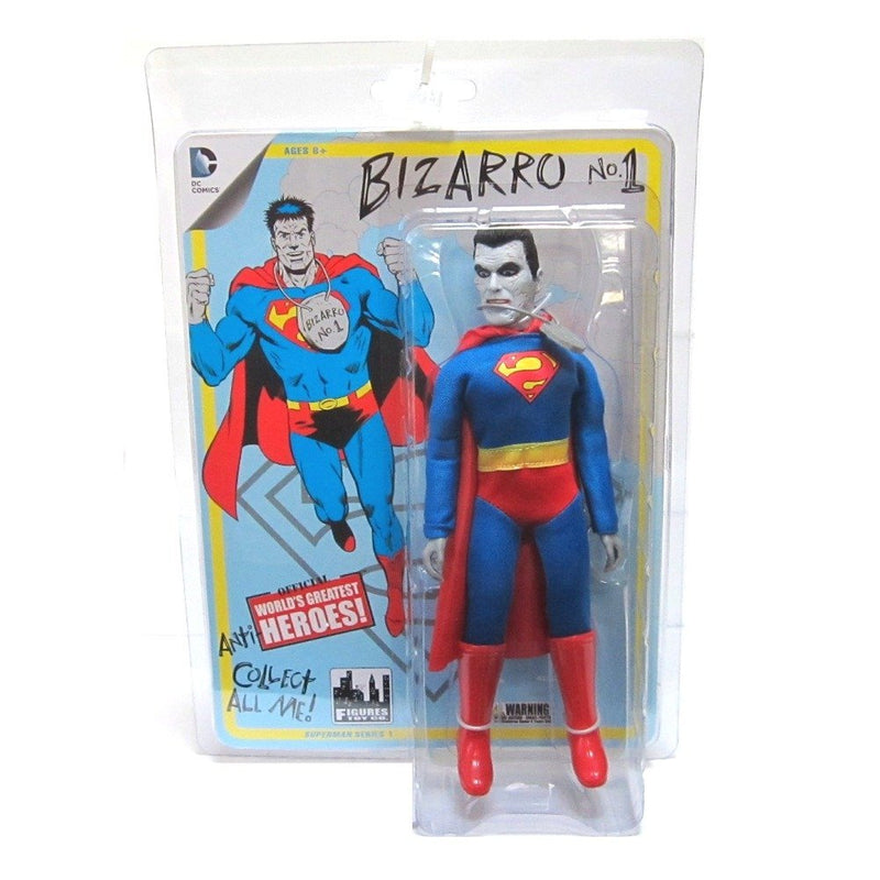 Superman DC Retro 8-Inch Series 1 Bizarro Action Figure