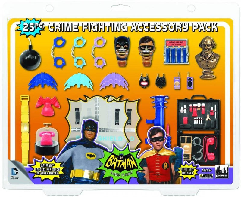 Batman 1966 TV Retro Action Figure Accessory Pack