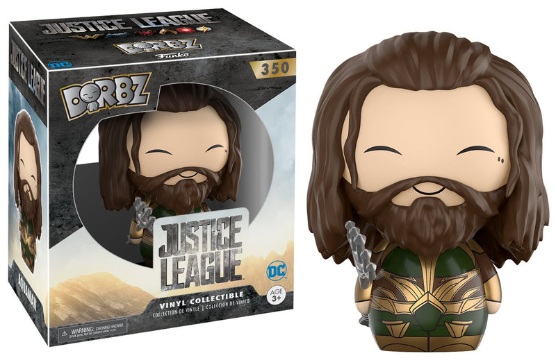 Justice League Aquaman Armored Dorbz Vinyl Figure #350