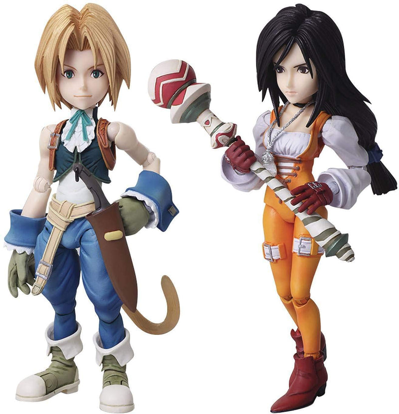 Final Fantasy IX: Zidane & Garnet Bring Arts Action Figure Set