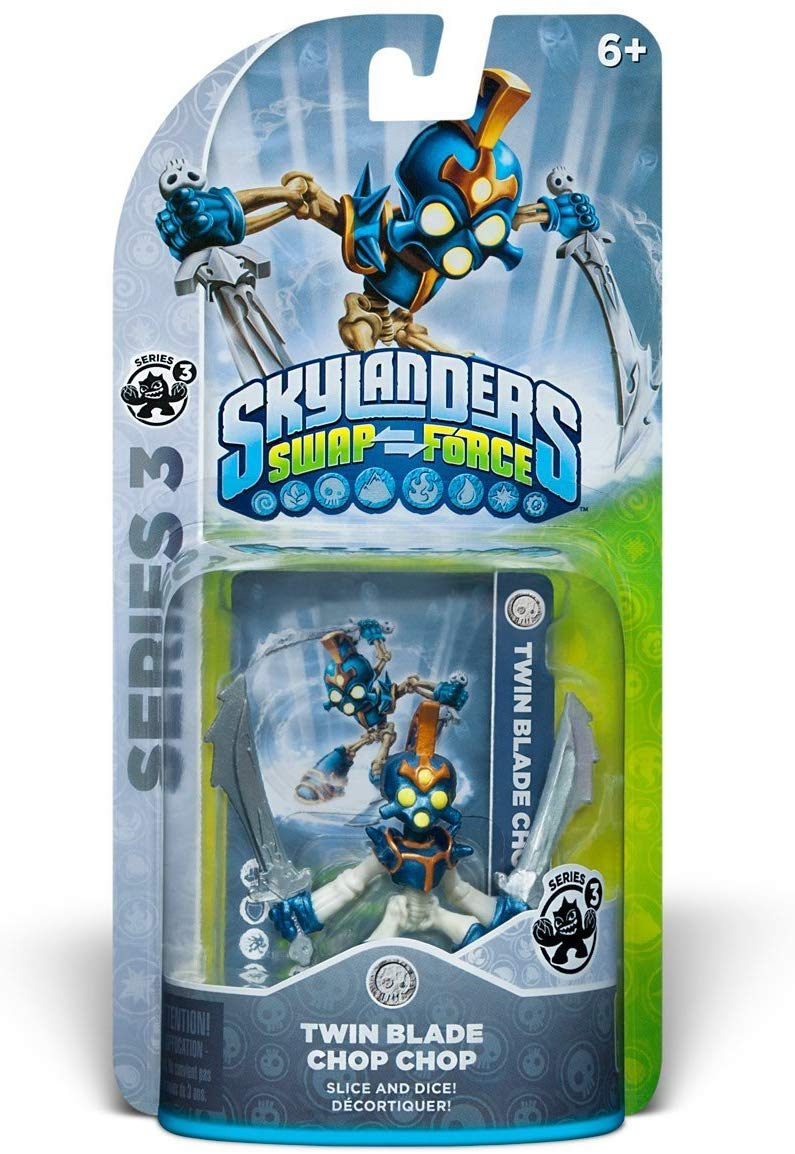 Skylanders SWAP Force: Twin Blade Chop Chop Series 3 Character