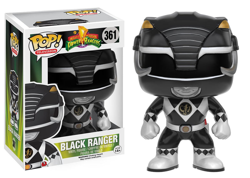 Funko POP TV: Power Rangers - Black Ranger Action Figure