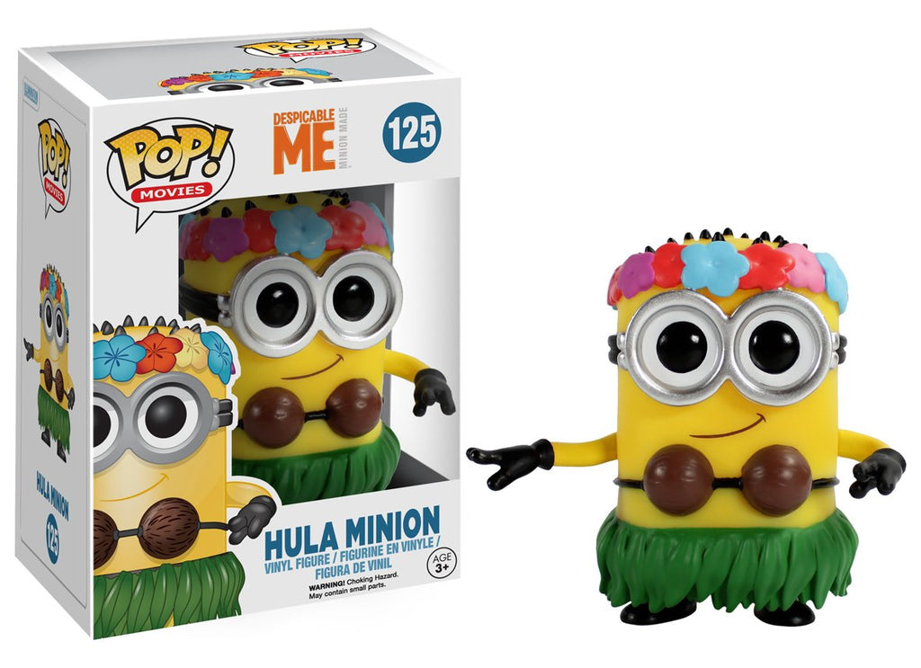 Despicable Me 2 Hula Minion POP! Vinyl Figure #125