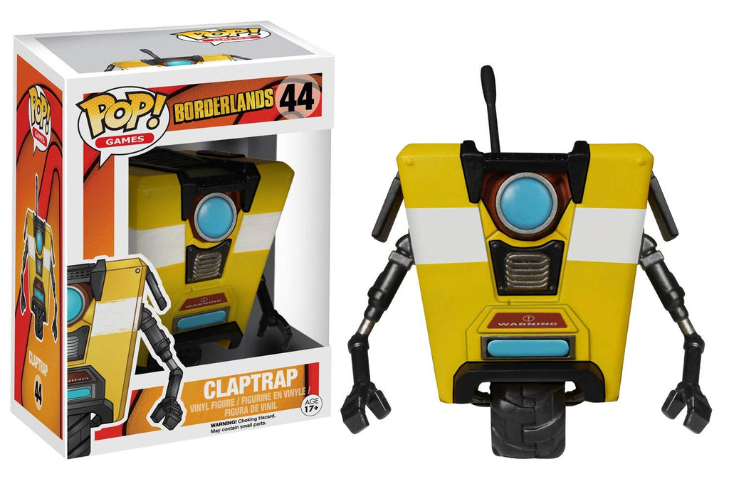 Borderlands Clap Trap POP! Vinyl Figure #44