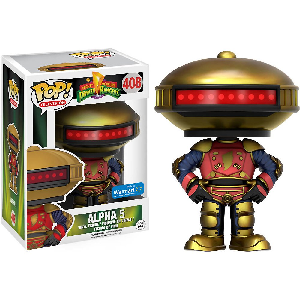 Power Rangers Alpha 5 Wamart Exclusive Pop! Vinyl Figure #408