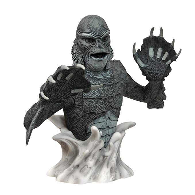 Universal Monsters B&W Creature Bust Bank