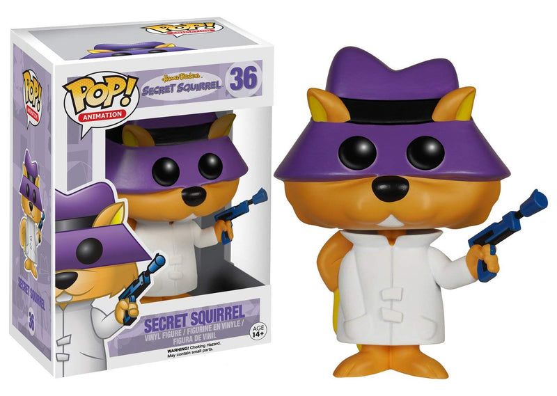 Hanna Barbera Secret Squirrel POP! Vinyl Figure #36