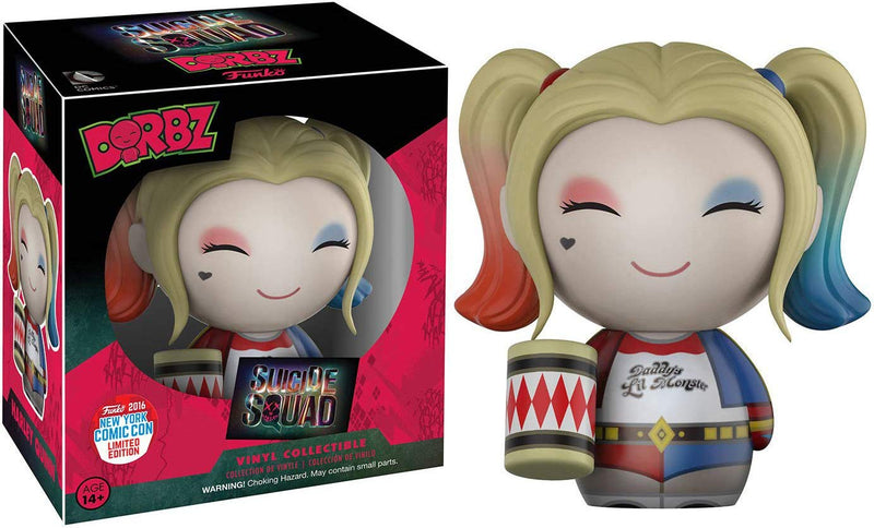 Suicide Squad Haley Quinn NYCC 2016 Exclusive Dorbz Figure