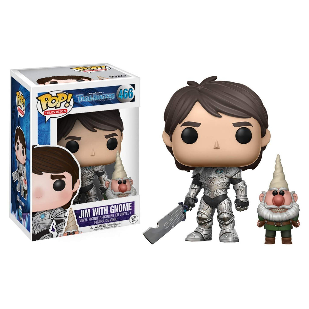 Trollhunters Jim with Gnome POP! Vinyl Figure #466