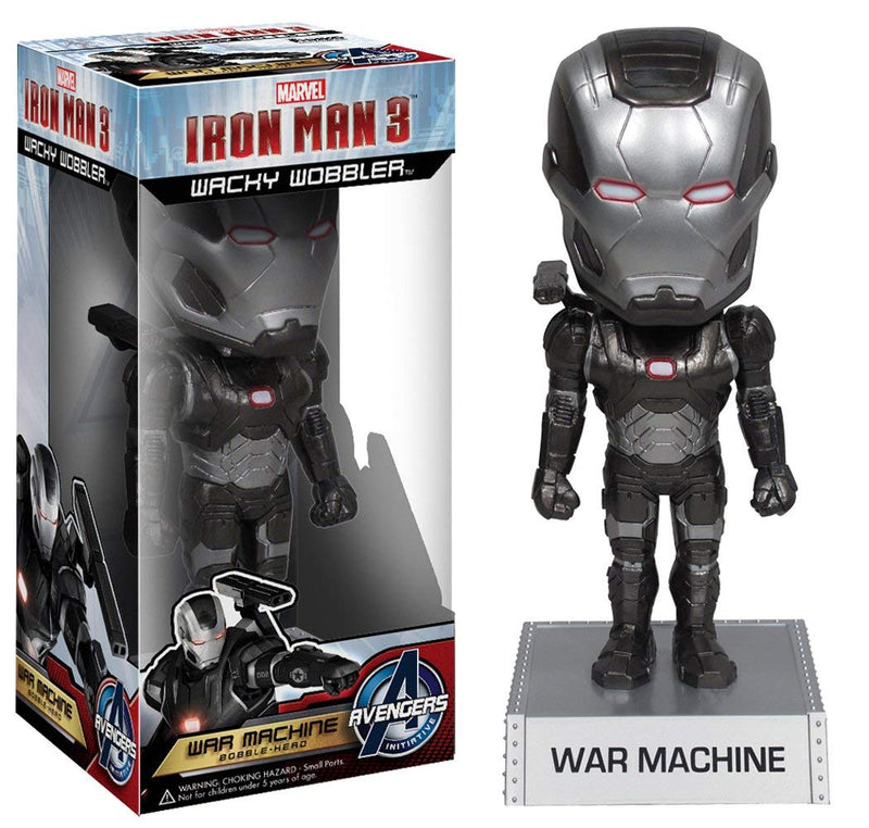 Iron Man 3 Movie War Machine 7-Inch Bobble Head