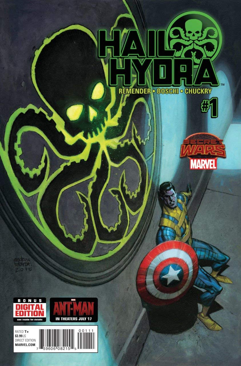 Hail Hydra #1 Comic Book