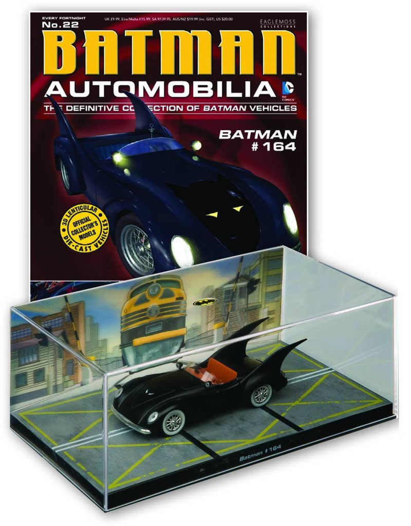 DC Batman #22 Automobilia Figure & Magazine #164