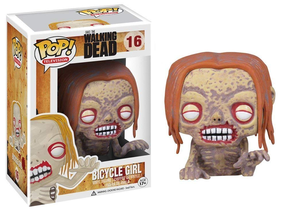 The Walking Dead Bicycle Girl Zombie Pop! Vinyl #16