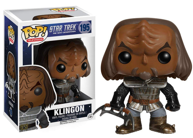Star Trek: The Next Generation Klingon Pop! Vinyl Figure #195